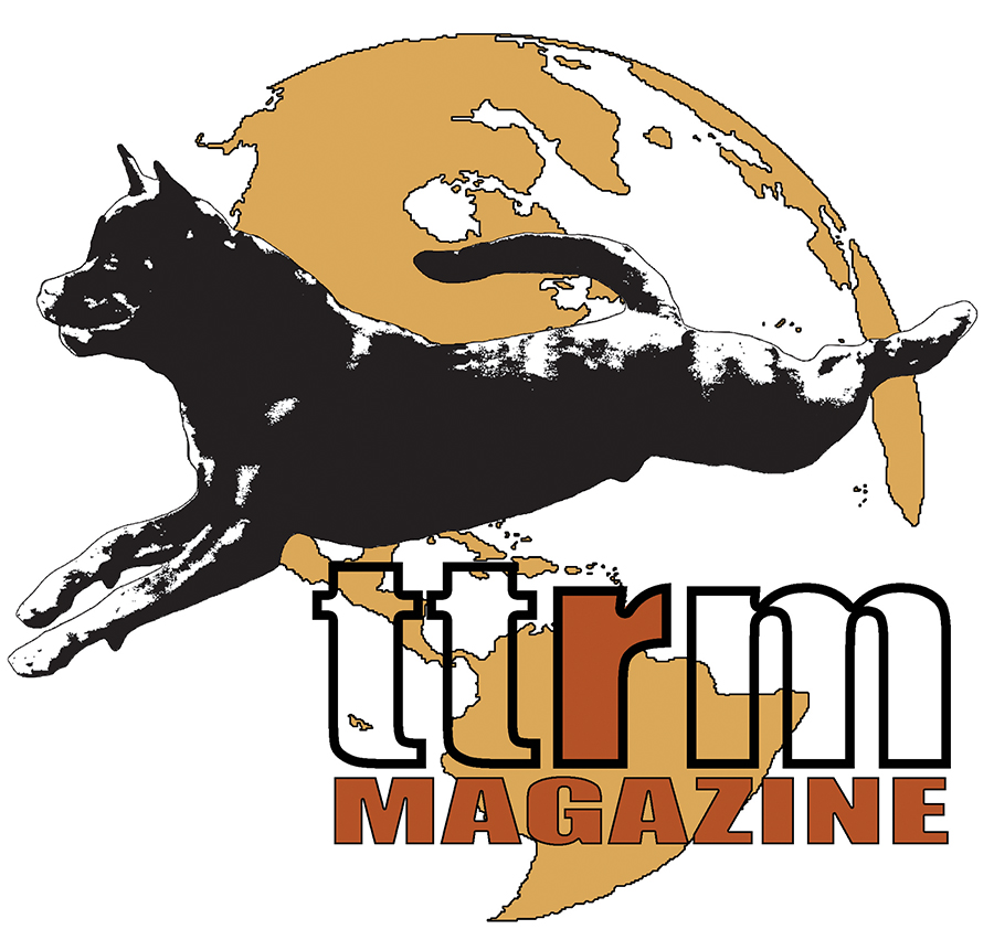 ttrm logo brown writing magazine