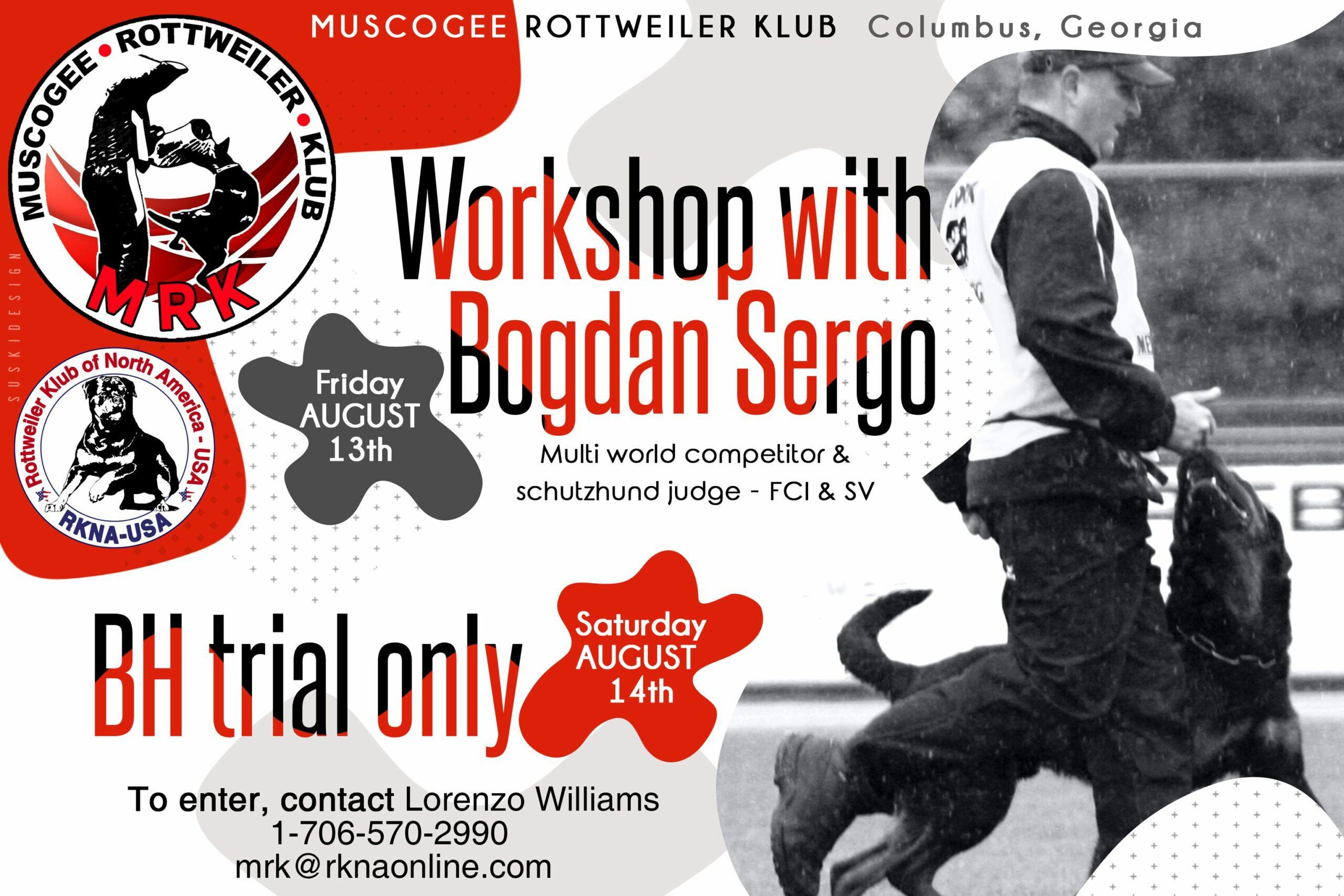 RKNA BH Trial And Bogdan Workshop